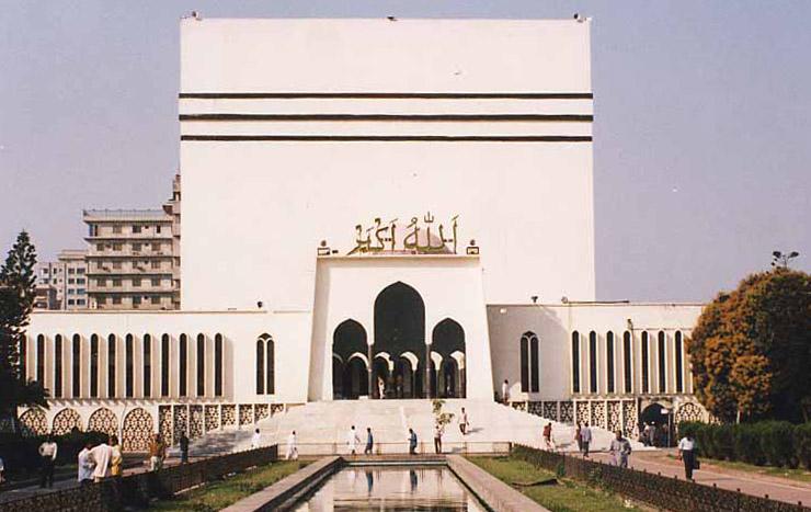 Baitul Mukarram National Mosque of Bangladesh in Dhaka