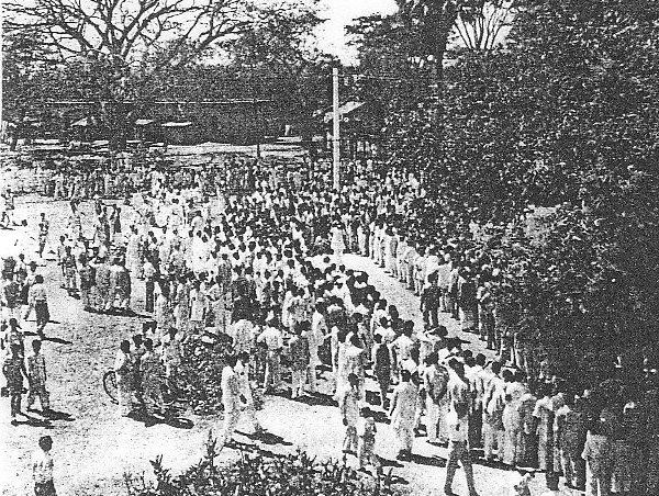 Bengali language movement in 1952