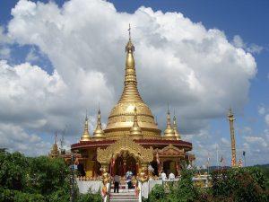 Buddha Dhatu Zadi, a Buddhist temple in Bandarban