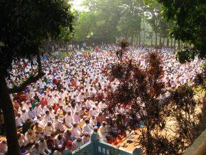 Eid prayer in Comilla