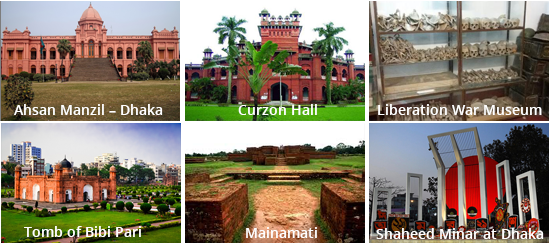 Historical Places of Bangladesh
