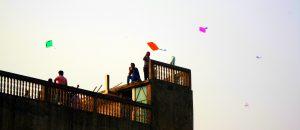 Shakrain kite festival, Dhaka
