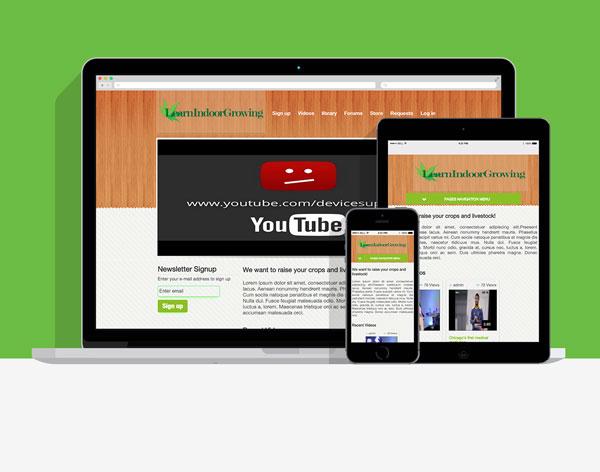 LearnIndoorGrowing Membership Selling Site (to be live soon)