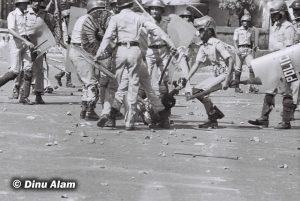 Police torture on general people
