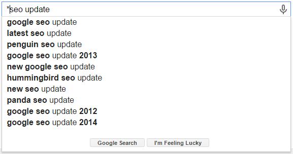 *SEO Update Google Search