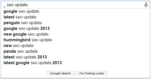 _ SEO Update Google Search