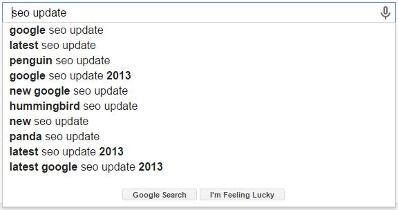 - SEO Update Google Search