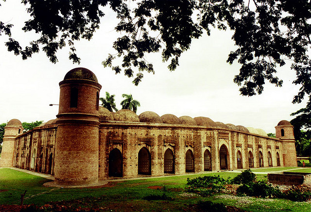 Centuries old sixty-domed mosque in Bagerhat