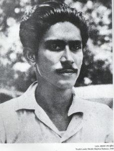 Sheikh Mujibur Rahman in 1949