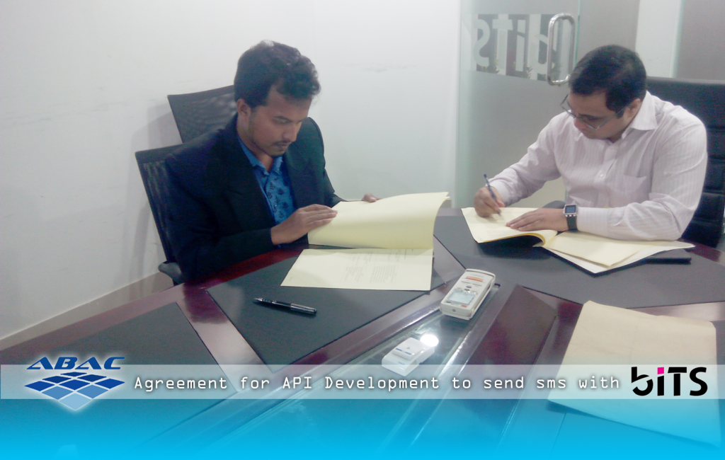ABAC CEO Signed Agreement to build Bulk SMS sending API for biTS