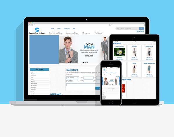 BuyWakeboardingBoats Clean Responsive Megento Website